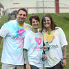MATT DURISKO | Herald<br /> Jim and Melinda Rowe of Greenville pose with Chrissy Arduini of West Middlesex after the race.