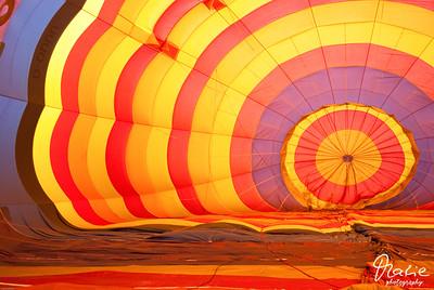 im inneren eines heißluftballons - hannover 2009