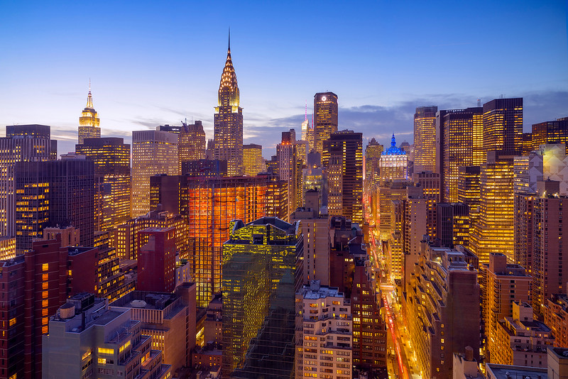 Twilight, Midtown NYC