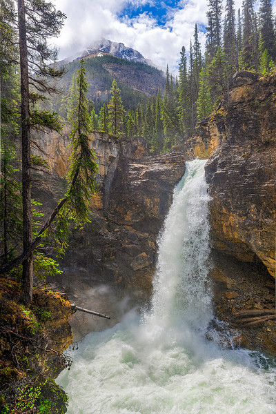 Stanley Falls, Jasper National Park, Canada