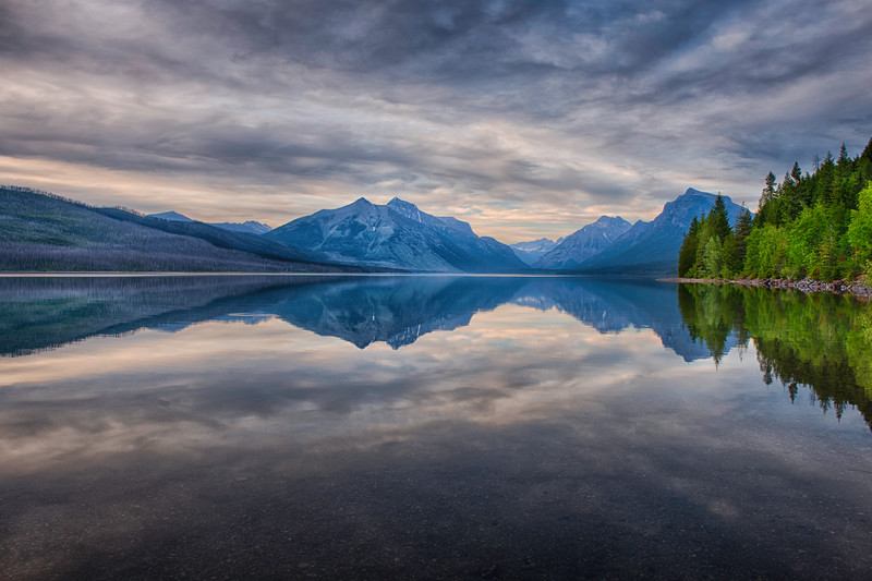 2x3 format - Lake McDonald/Glacier National Park, Montana