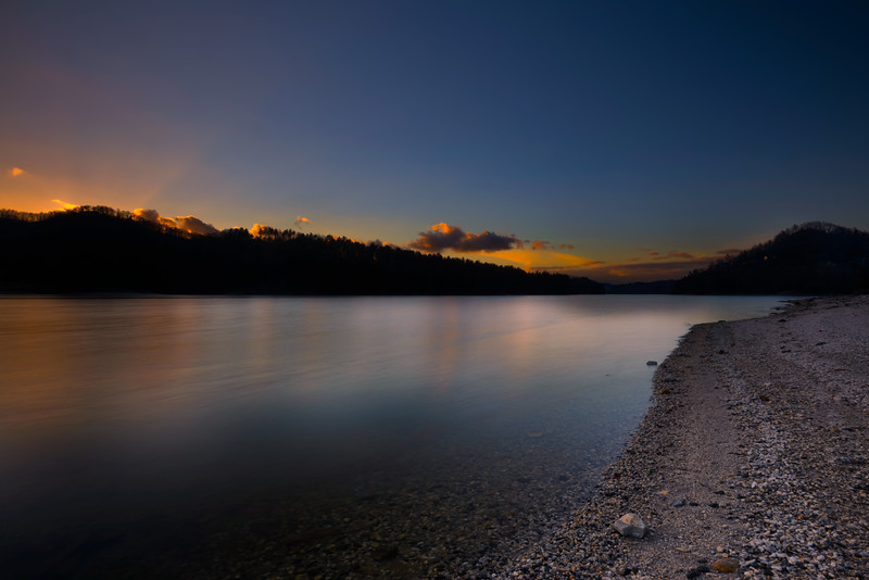 Lake Glenville at Dusk