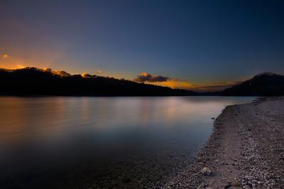 Lake Glenville at Dusk
