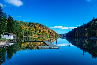 Reflections of Lake Logan