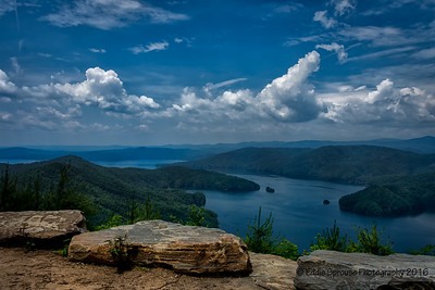 Lake Jocassee From Jumping Off Rock 5-26-16