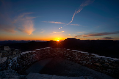 Sunset from Devils Courthouse