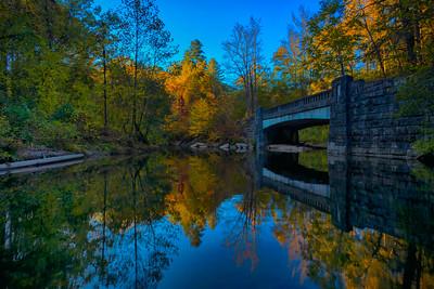 Davidson River Meets Looking Glass Creek 10-17-2016