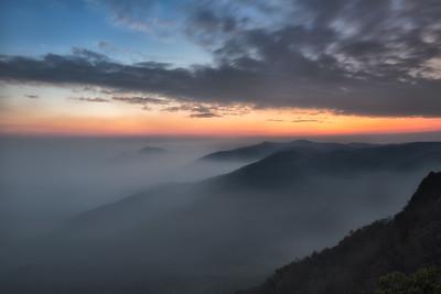 Sunset and Smoke 2