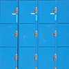 Block of Blue Lockers