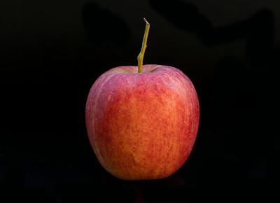 Apple Black Background