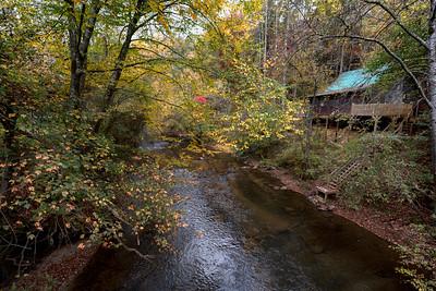 Creekside Cabin Fall
