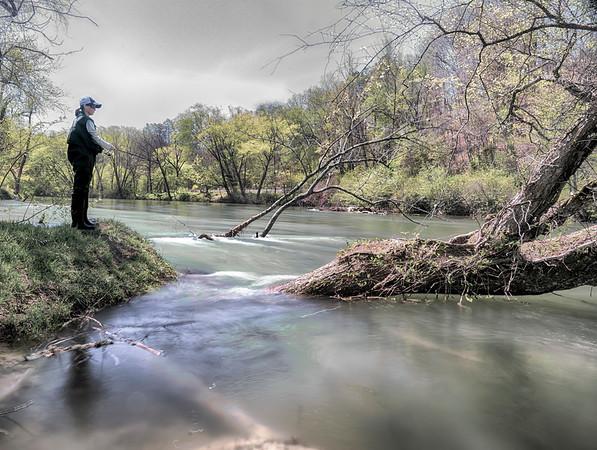 Toccoa River Fishing