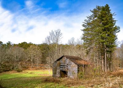 Abandoned Barn Highway 2