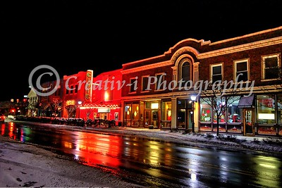 Farmington Civic Theater Night View #03