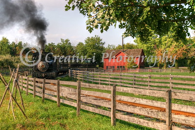 Steam Locomotive Greenfield Village- Dearborn, Michigan #1