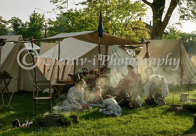 Civil War Re-enactor's Camp 01