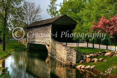 1832 Ackley Covered Bridge, Greenfield Village- Dearborn Michigan #4