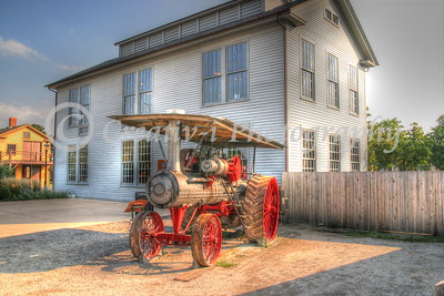 Steam Tractor - Greenfield Village- Dearborn, Michigan #1