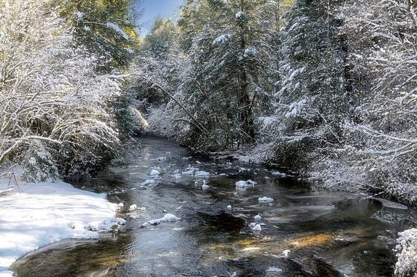 Fightingtown Creek in Winter
