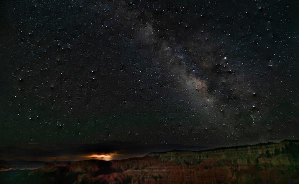 Milky Way over Bryce 2