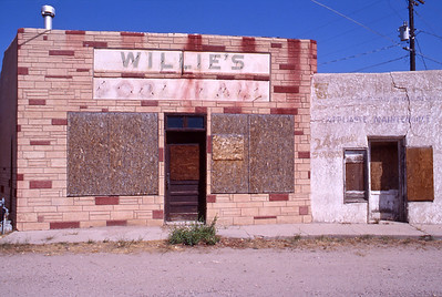 Willie's Pool Hall, Espanola, New Mexico.  Summer 2010.