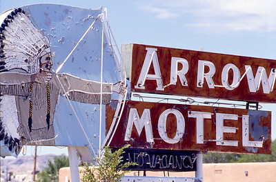Arrow Motel, Espanola, New Mexico.  Summer 2010.