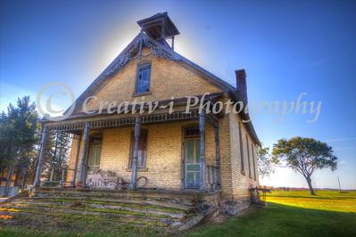 1880's Hodge School- Kingsley, Michigan #02