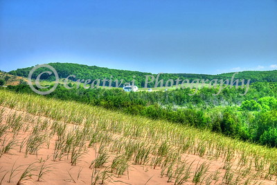 D. H. Day Farm- View from Dunes Overlook, Sleeping Bear Dunes National Lakeshore-#10