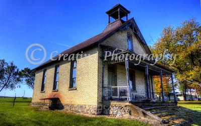 1880's Hodge School- Kingsley, Michigan #01