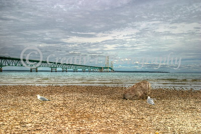Mackinac Bridge East View #16