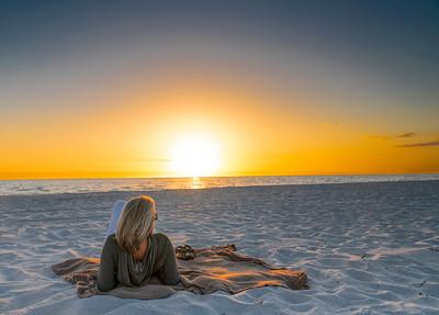 Watching the Sunset Treasure Island