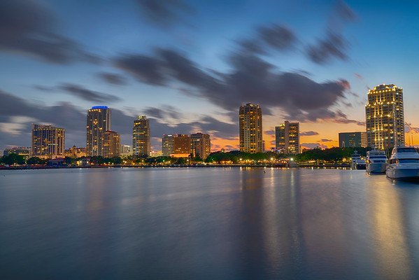 Downtown St Petersburg from Vinoy Park
