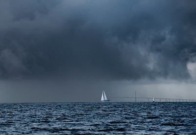 Storm on Tampa Bay