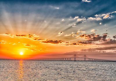 Sunshine Skyway Sunrise 2