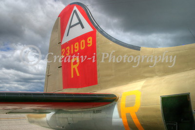 B-17- Tail- Willow Run Air Show #1