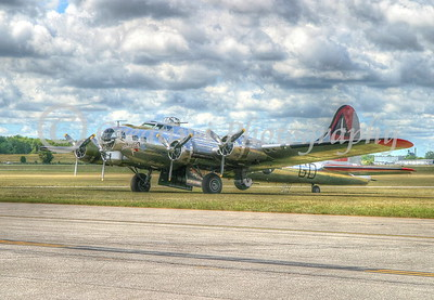 B-17 Yankee Lady- Willow Run Air Show #1