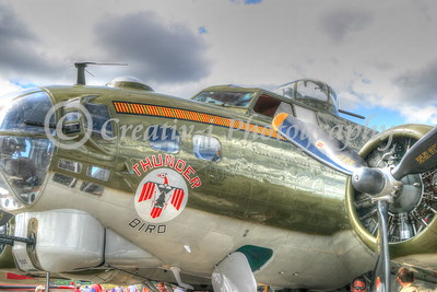 B-17- Thunderbird- Willow Run Air Show #2