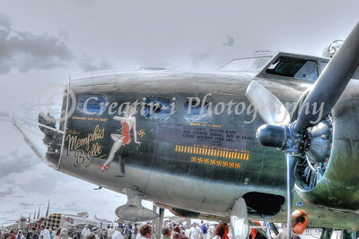 B-17- Memphis Belle- Willow Run Air Show #1