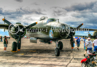 B-25 Mitchell Bomber- Willow Run Air Show #1