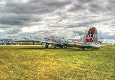 B-17 - Willow Run Air Show #3