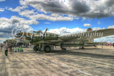 B-17- Thunderbird- Willow Run Air Show #1