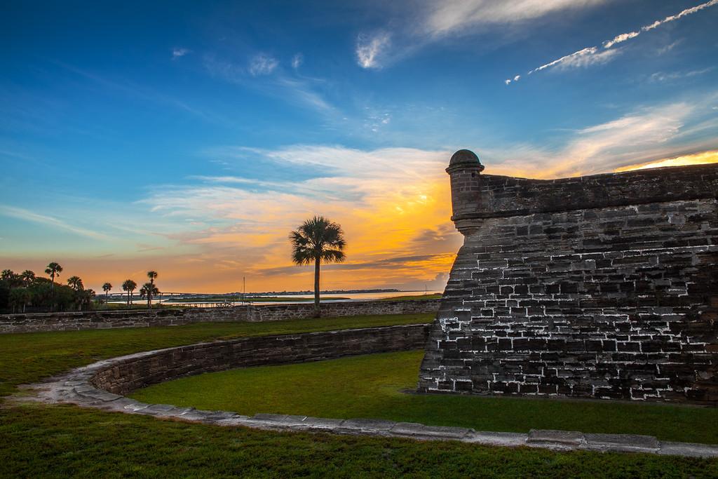 Castillo de San Marcos, Sunrise