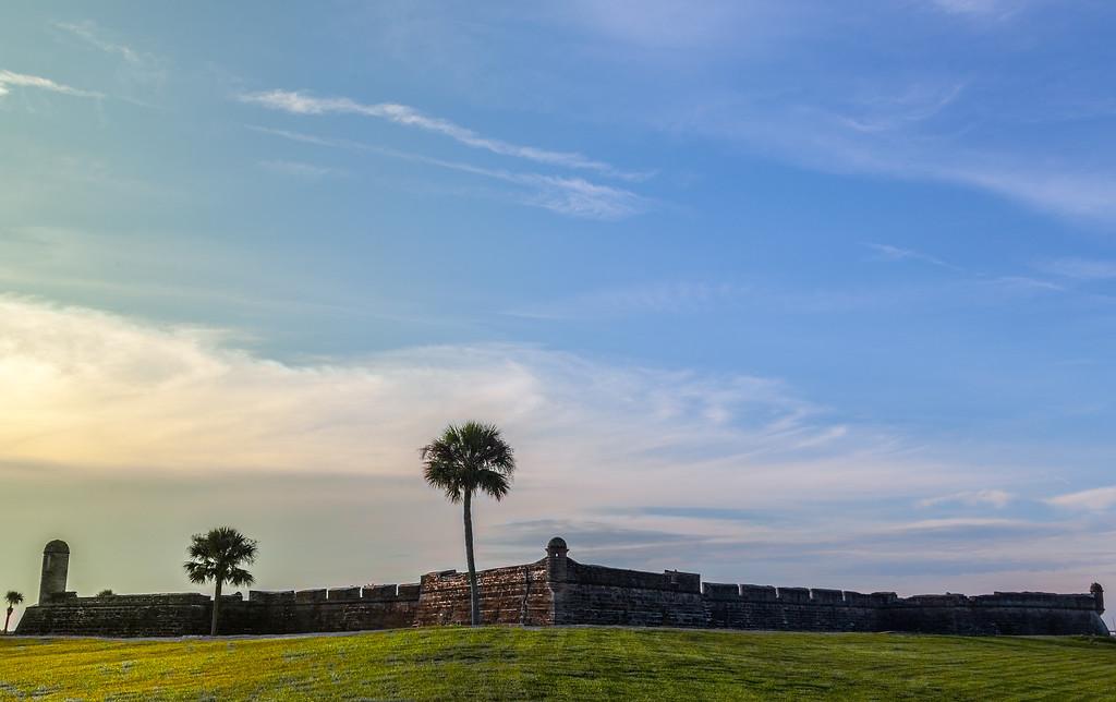 Castillo de San Marcos, wide angle