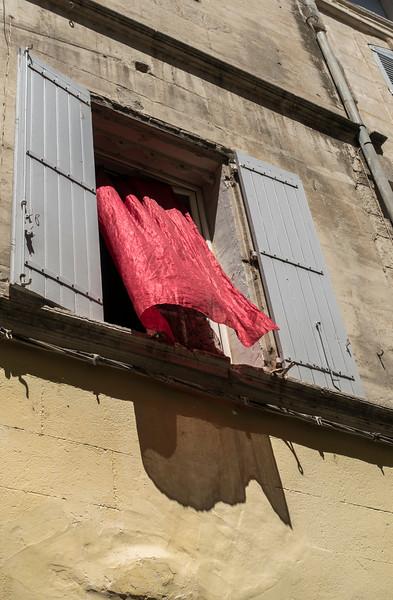 Arles, France:  Red Wind