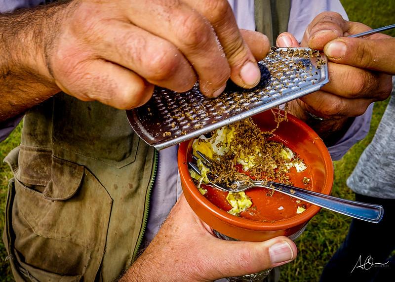 Montefalco, Italy: Truffles and Scramble