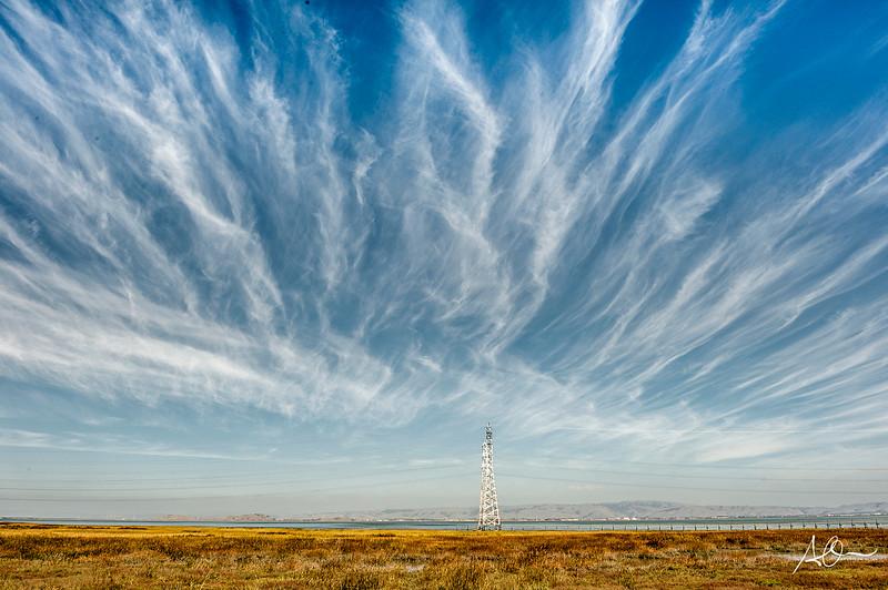 Redwood Shores, Calif:  Sky Waves