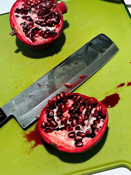 Sausalito, Calif:  Death to Pomegranate