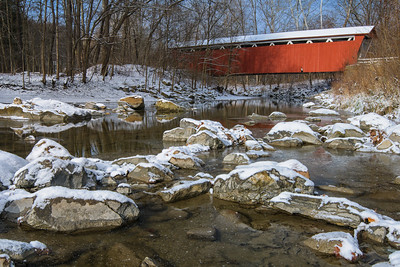 Everet Road Covered Bridge