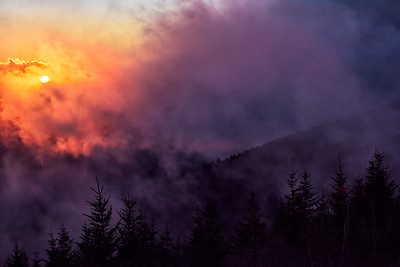 Smoky Mountain Sunset #1