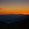 Smoky Mountain Sun Set